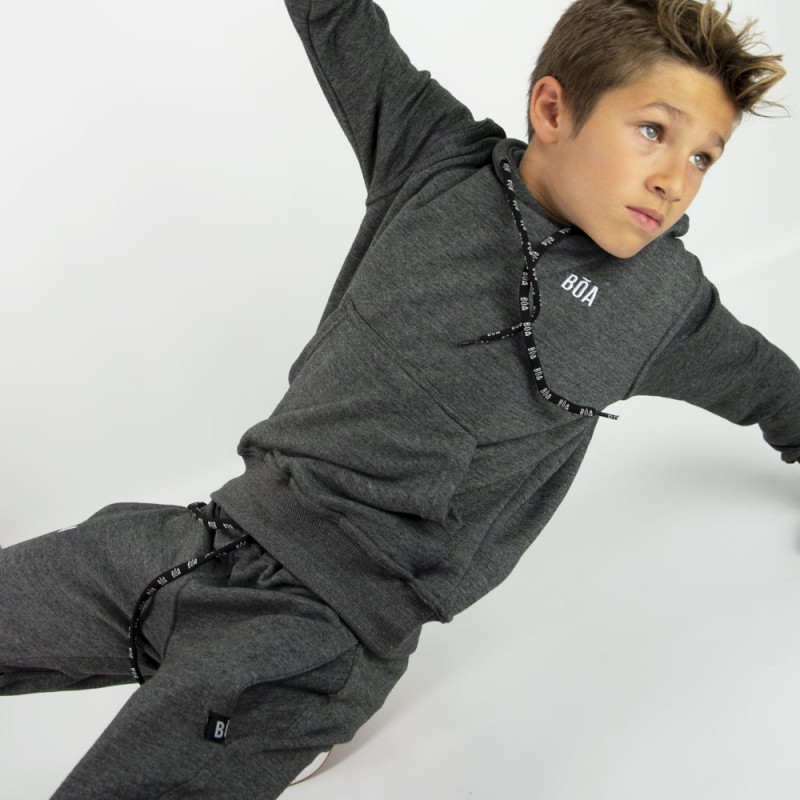 Esportes Child Tracksuit - Charcoal | for Sport