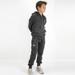 Esportes Kinder Trainingsanzug - Holzkohle | Fitness