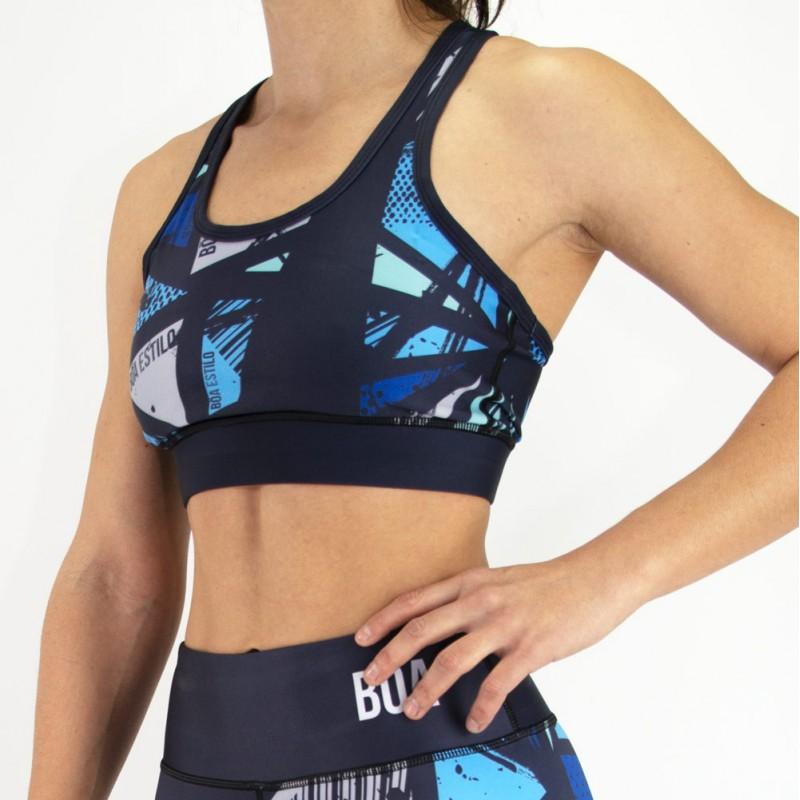 Sutiã de fitness para Mulher Sem Limites   para esporte