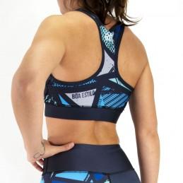 Brassiere de Fitness Femme Sem Limites | pour les entrainements