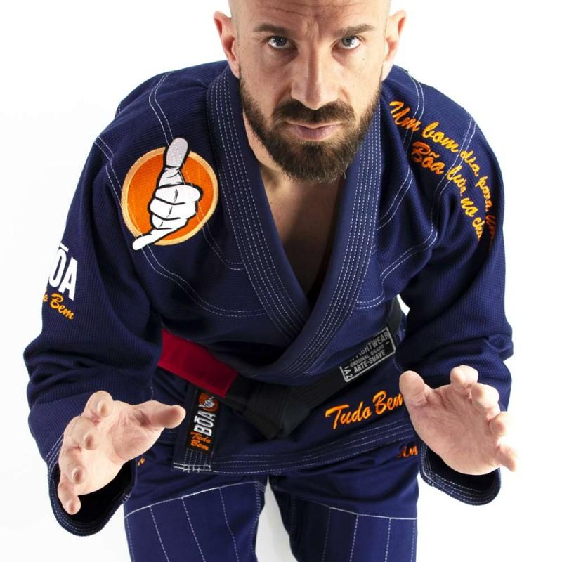 Bjj Herren Kimono Tudo bem edição | die Praxis des brasilianischen Jiu-Jitsu