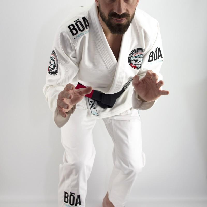 Brasilianisches Jiu-Jitsu Kimono Mk Team Reims Wettkampftraining