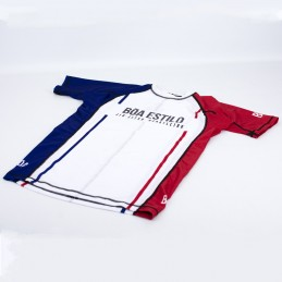 Rashguard hombre Jiu-Jitsu brasileño - XGuard Camiseta de compresión