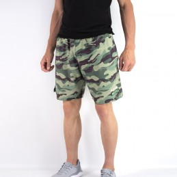 Pantaloncini sportivi da uomo con design mimetico | Bōa Fightwear