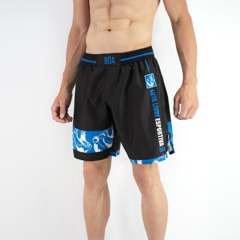 Kampfshorts herren Luta Livre - Sport Training auf Tatami-Matten