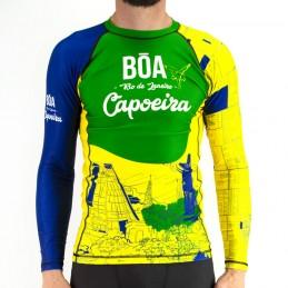 Rashguard homme de Capoeira Roda | Sport de combat | Bōa