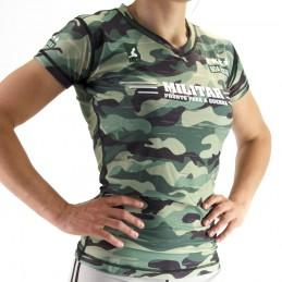 Rashguard zhenskiye sport Nogi - Militar boyevoy sport