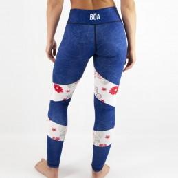 Grappling women's fun leggings - Nosso Estilo for grappling
