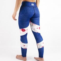 Leggings divertenti donna Grappling - Nosso Estilo per il fitness