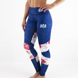 Grappling women's fun leggings - Nosso Estilo Leggings for sports