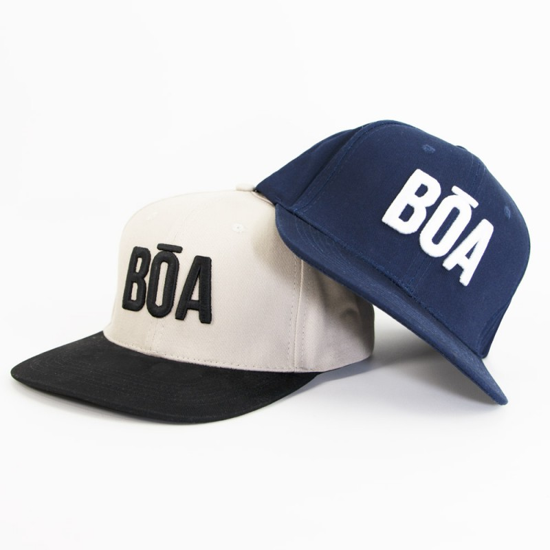 Flat visor snapback cap Nosso american