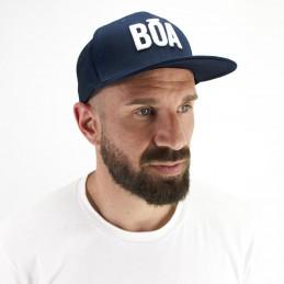 Flat visor snapback cap Nosso surfing