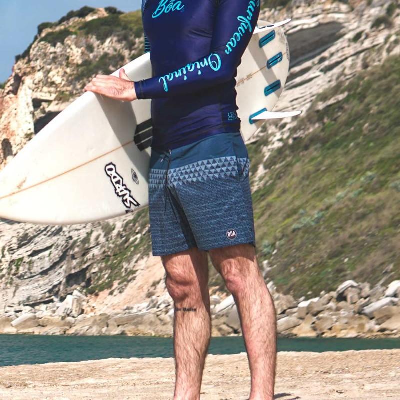 """Shorts Bõa Summer Jeans 17"""" - Blau   für den Strand"""