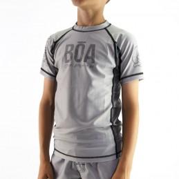Rashguard Junge für Grappling- Deslumbrante Grappling-Wettbewerbe