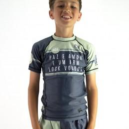 Rashguard enfant de Grappling - Curitiba t-shirt de compression