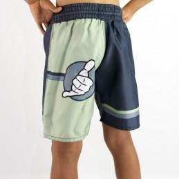 Grappling children's shorts - Curitiba Boa