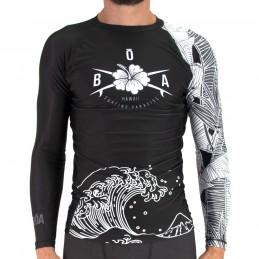 Rashguard homme Surf and Roll - Vibrações T-shirt de compression