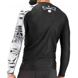 Рашгард мужской для серфинга и ролла - Vibrações для единоборств