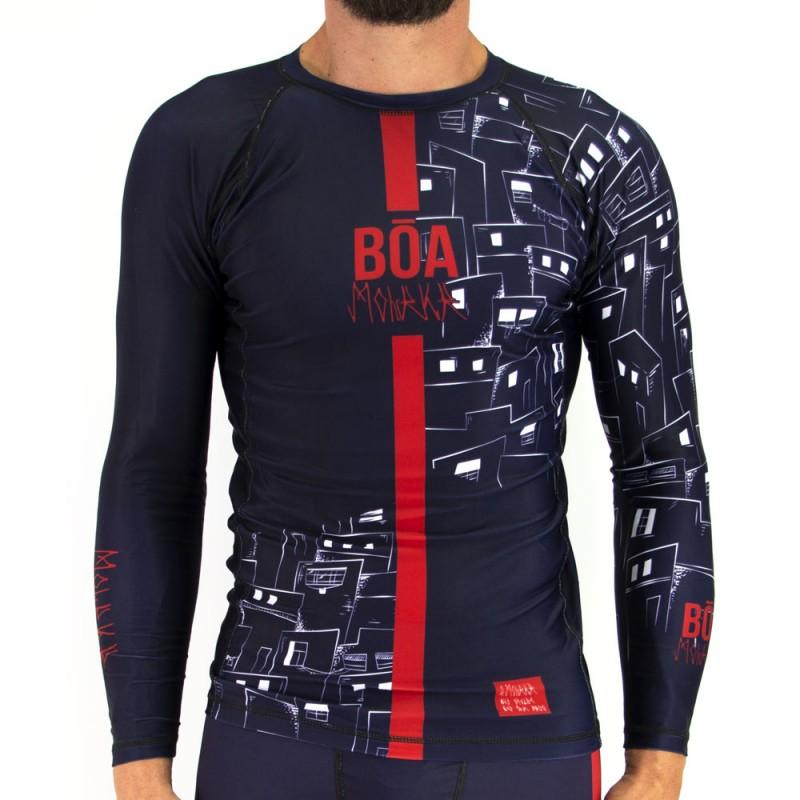 Rashguard homme de combat - Moleke T-shirt de compression