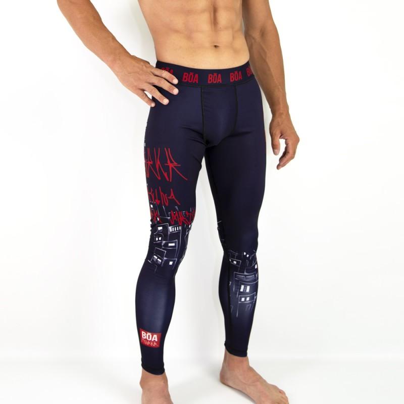 Men's combat leggings - Moleke for Grappling