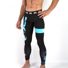 Legging homme Jiu Jitsu Pelo Mundo pour les arts martiaux