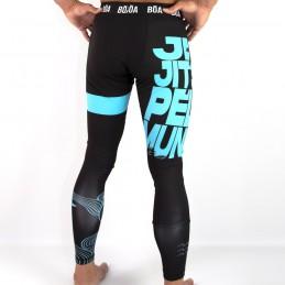 Men's leggings Jiu-Jitsu Pelo Mundo Boa
